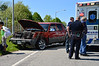 05/18/2014 14:45 hrs. Manorville MVA-Lambui : Accident causes numerous injuries in Manorville Sunday, May 18, 2014. At least 11 people, mostly children, were injured in a two car accident on Wading River Road at the intersection of the LIE exit 69 eastbound exit service road. Authorities on scene reported one child was transported to Stony Brook University Hosp. due to the seriousness of their injuries. SCPD 7th Pct., Highway Patrol, Manorville F.D. and Manorville Community ambulance responded to the accident which occurred at approx. 2:45 p.m. between a Chevy Avalanche and a 2003 Ford Explorer. Ambulances from neighboring fire departments were called to the scene to assist with transported the many injured to area hospitals.