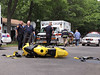 06/11/2014 14:20 hrs. Mastic MC/MVA-Lambui : Motorcycle accident in Mastic Wednesday, June 11, 2014.  Officers from the SCPD's 7th Pct., the Mastic F.D., and Mastic Volunteer Ambulance responded at approx. 2:20 p.m. when a Honda motorcycle and a Honda CRV collided at the intersection of Mastic Blvd. East and Ormond Pl. The two males on the motorcycle were able to walk away with only minor injuries and there were no reports of injuries to the occupants of the CRV.