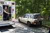 06/26/2014 13:50 hrs. Middle Island MVA-Lambui : On Thursday June 26, 2014 at approx. 13:50 hrs., the Middle Island F.D. and officers from SCPD's 7th Pct. responded to this MVA between a Honda Accord Station Wagon and a Jeep Wrangler on Yaphank/Middle Island Road, north of Longwood Rd., near the entrance of Prosser Pines County Park. A pregnant woman was among a few of the injured who were being evaluated at the scene. It is unknown who, if any, were transported to the hospital from the scene.