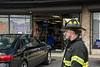 07/13/2014 15:45 hrs. North Patchogue Car vs bldg-Lambui : Car drives into building in North Patchogue Sunday, July 13, 2014.  A woman driving a Hyundai Sonata accidently hit her gas pedal instead of her brake and drove into the Party Palace Stationary Store on Route 112, just south of East Woodside Ave., at approx. 3:45 p.m. The North Patchogue F.D. and officers from the SCPD's 5th Pct. responded to the scene. No injuries were reported and the buildings department were called to the scene to assess the structural integrity of the building.