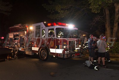 Basement fire in Mastic Thursday, August 21, 2014. Basement fire occurred in a house at 167 Lexington Road in Mastic/Shirley. The Mastic F.D. was notified at approx. 10:00 p.m. and responded. The fire was so intense it burned through the basement ceiling into a section of the first floor rooms. Brookhaven, Mastic Beach, and Center Moriches F.D.'s also responded on mutual aid. Chief Greg Amato of the Mastic F.D. (05-12-30) was in charge of the scene. No injuries at this time.