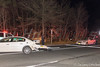 12/18/2014 19:15 hrs. Hagerman MVA-Lambui : Three car accident in East Patchogue Thursday, December 18, 2014.  A three car collision at the intersection of Sills Road and the South Sunrise Service Road sent a BMW into the woods and injured at least five people. An Infiniti and a Buick were also involved in the wreck that occurred at approx. 7:15 p.m. The Hagerman F.D., SCPD 5th Pct., and numerous ambulances from South Country Ambulance responded to the scene. Northbound Sills Rd. (CR-101) was closed at North Dunton Ave. while the accident scene was being secured. There was no disclosure as to the type or severity of the injuries to the numerous victims.