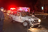 Nov. 25, 2014 20:30 hrs. Ridge F.D. responds to head-on MVA on William Floyd Pkwy at entrance to SCPD 7th Pct. Two people were transported to Brookhaven Memorial Hosp. with injuries.