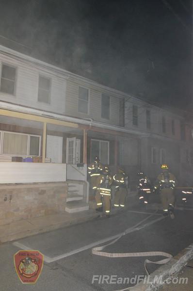 Carbon County - Lansford Borough - Dwelling Fire - 11/20/2014