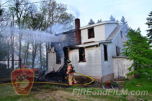 Luzerne County - Hazle Twp. - Dwelling Fire - 05/26/2014