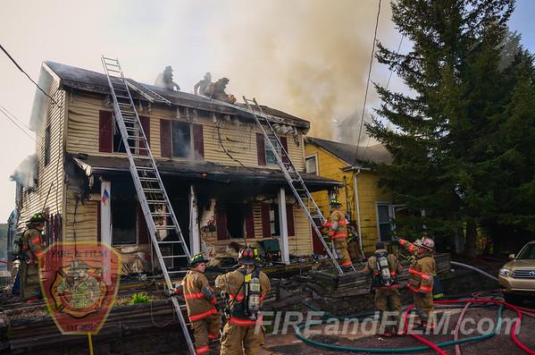 Luzerne  County - White Haven Borough - Dwelling Fire