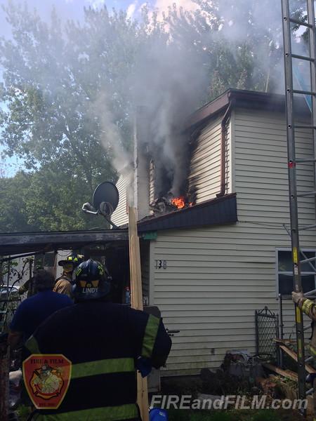 Schuylkill County - Frackville Borough - Dwelling Fire - 09/18/2014