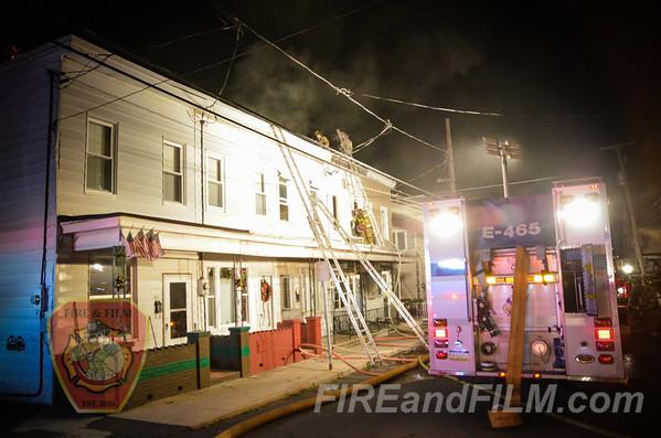 Schuylkill County - Mahanoy City - Dwelling Fire - 12/31/14