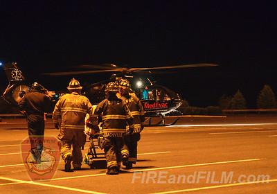 Schuylkill County - New Castle Twp. - MedEvac 4 Landing - 06/01/2014