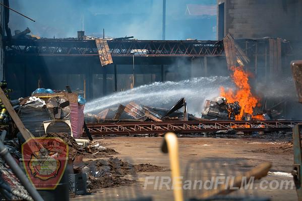 Schuylkill County - Pine Grove - 3 Alarm Fire - 06/02/2014