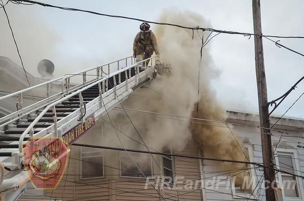 Schuylkill County - Shenandoah Borough - Dwelling Fire - 11/02/2014