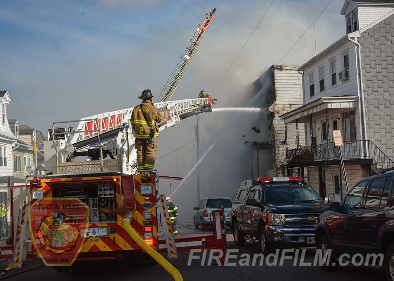 Schuylkill County - Ashland Borough - 3rd Alarm Fire - 11/06/15