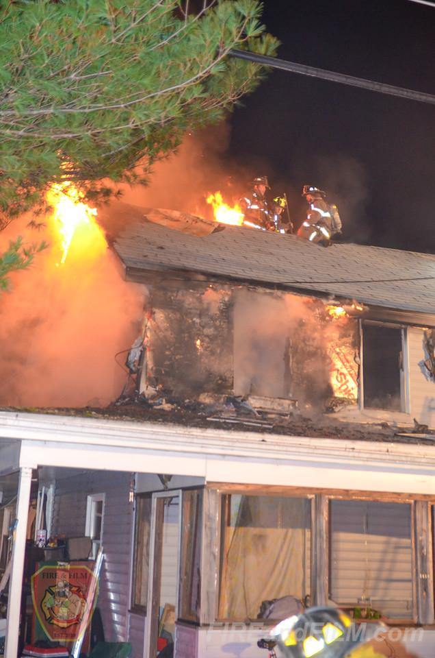 Schuylkill County - Ryan Twp - Dwelling Fire - 11/22/2015