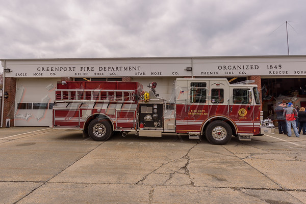4/23/2016 Assorted Apparatus @ Greenport F.D. Wet Down