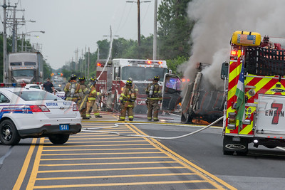 6/23/2016 Medford Fire Dept. Van Fire
