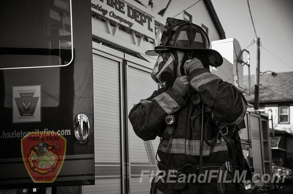 Luzerne County - Hazleton City - Dwelling Fire - 11/07/2016