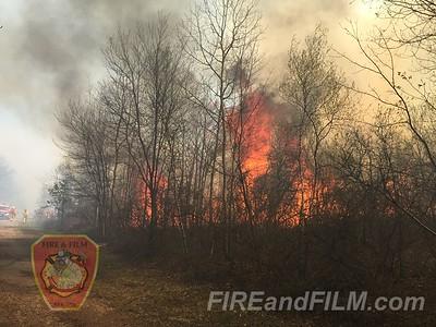 Luzerne County - Hazle Twp. - Brush Fire - 05/12/2016