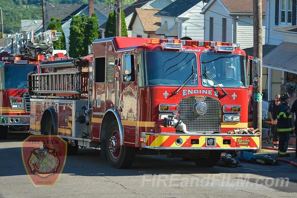 Luzerne County - Hazleton City - Dwelling Fire - 07/14/2016