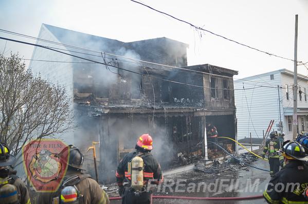 Schuylkill County - Shenandoah Borough - Dwelling Fire - 04/13/2016