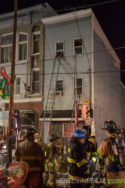 Schuylkill County - Girardville Borough - 2 Alarm House Fire - 12/17/2016