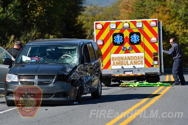 Schuylkill County - Union Twp. - MVA w/injury - 10/11/2016