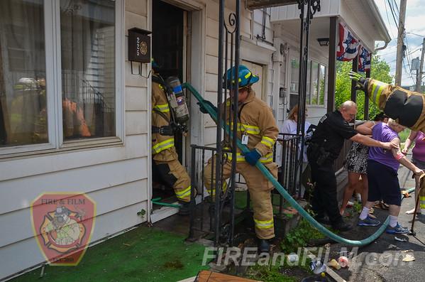 Schuylkil County - Shenandoah Borough - House Fire - 06/22/2016