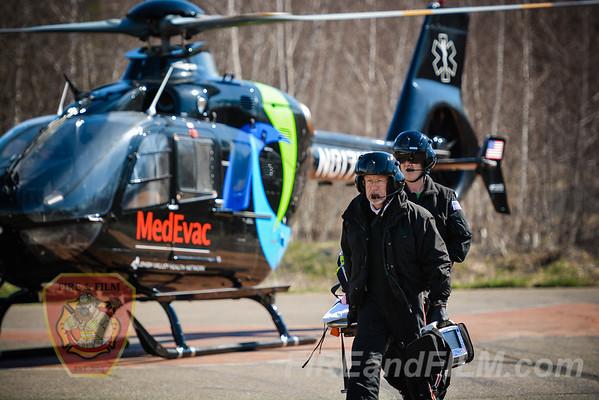 Schuylkill County - Shendandoah Borough - MedEvac 7 Landing Zone - 04/06/2016