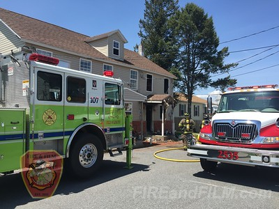 Schuylkill County - Kline Twp. - Dwelling Fire - 05/20/2016