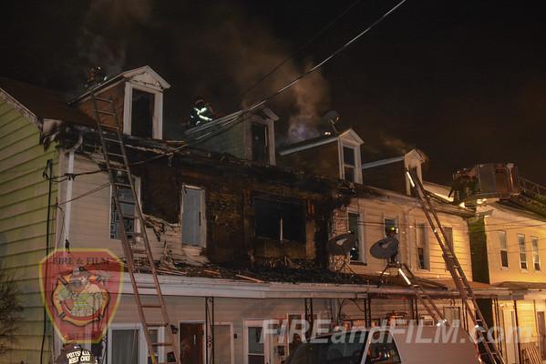 Schuylkill County - Minersville Borough - Dwelling Fire - 03/08/2016