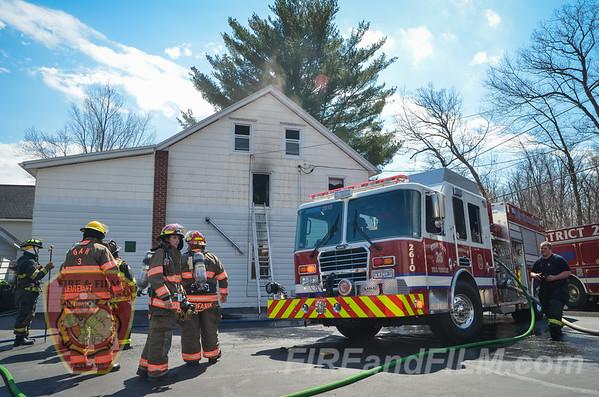 Schuylkill County - Rush Twp. - Dwelling Fire - 03/25/2016