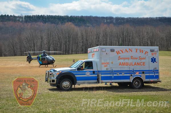Schuylkill County - Ryan Twp. - Landing Zone - 03/25/2016