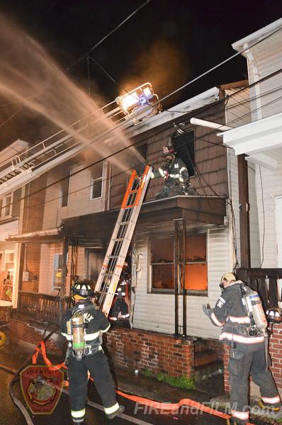 Schuylkill County - Shenandoah Borough - Dwelling Fire - 04/23/2016
