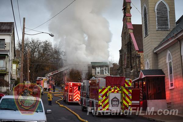 Schuylkill County - Ashland Borough - Dwelling Fire - 11/24/2017