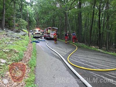 Luzerne County - Black Creek Twp. - Dwelling Fire - 08/06/2017