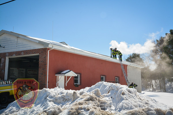 Luzerne County - Hazle Twp. - Harwood FD Building Fire - 03/20/2017