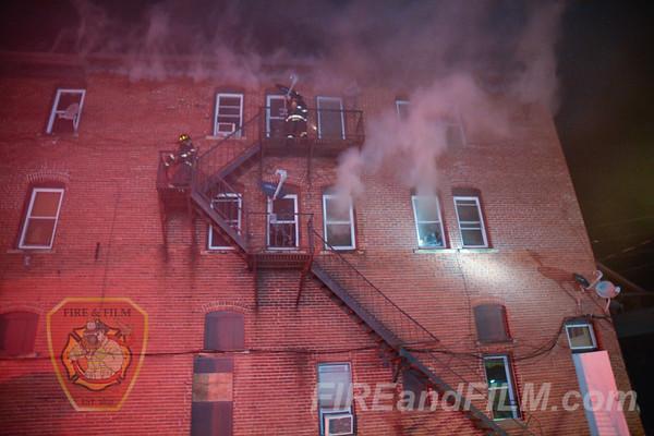 Luzerne County - City of Hazleton - Building Fire - 11/23/2017