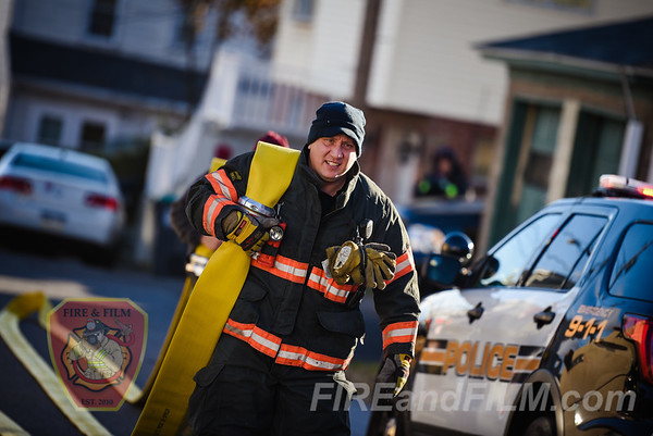 Luzerne County - Hazleton City - Dwelling Fire - 11/17/2017