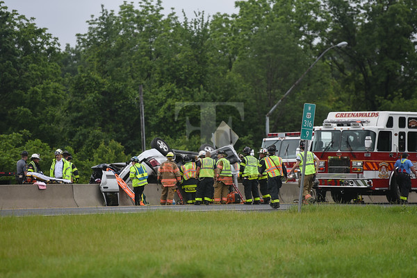 Lehigh County - South Whitehall Twp. - MVA with rescue - 06/06/2017
