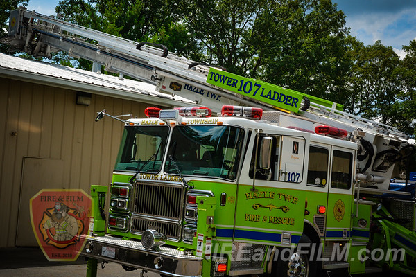 Luzerne County - Hazle Twp. - Rubbish Fire / Electrical Issue - 08/10/2017
