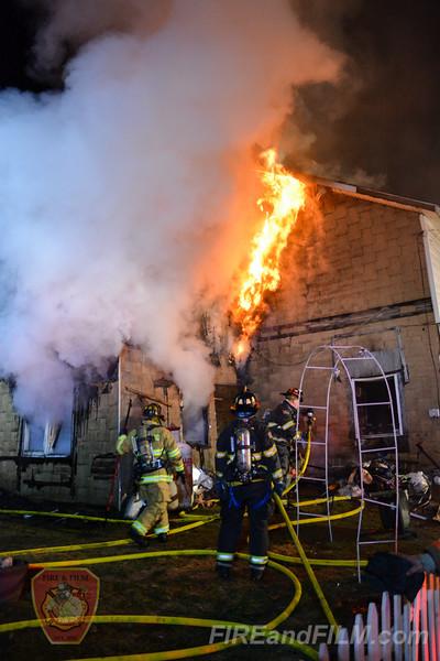 Schuylkill County - Gilberton Borough - Dwelling Fire - 03/06/2017