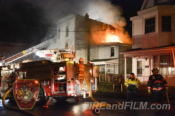 Schuylkill County - Shenandoah Borough - Dwelling Fire - 11/30/2017