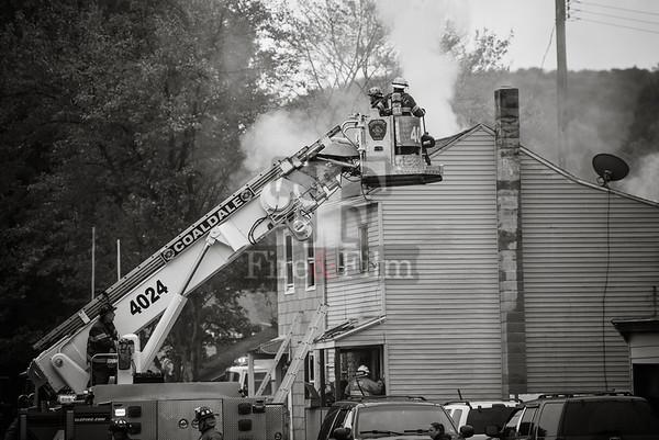 Schuylkill County - Tamaqua Borough - 2nd Alarm Dwelling Fire - 10/13/2017