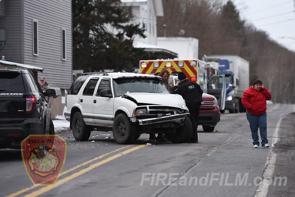 Schuylkill County -West Mahanoy Twp. - MVA - 03/13/2017