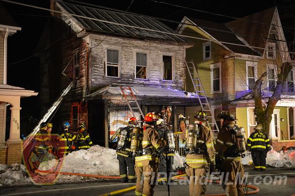Schuylkill County - West Penn Twp - Dwelling Fire - 03/22/2017