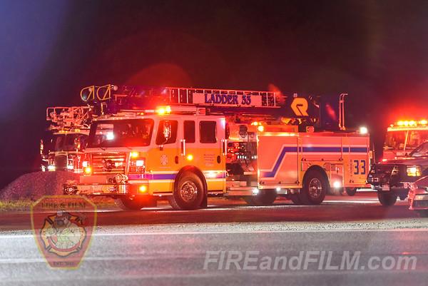 Berks County - Hamburg Borough - Commercial Fire - 06/23/2018