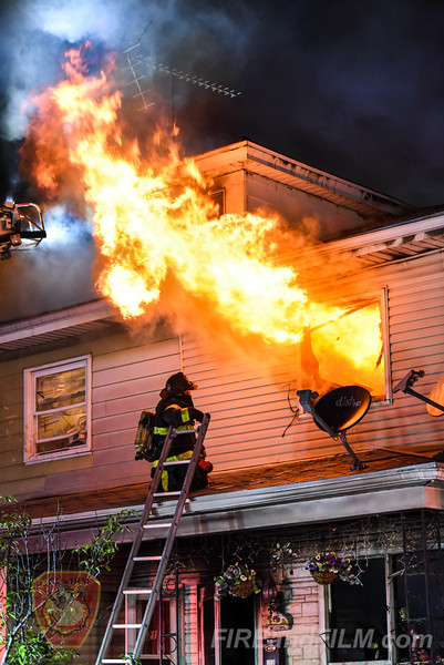 Luzerne County - Hazleton City - House Fire - 07/04/2018