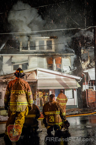 Northumberland County - Mount Carmel Borough - Multiple Alarm House Fire - 02/01/2018