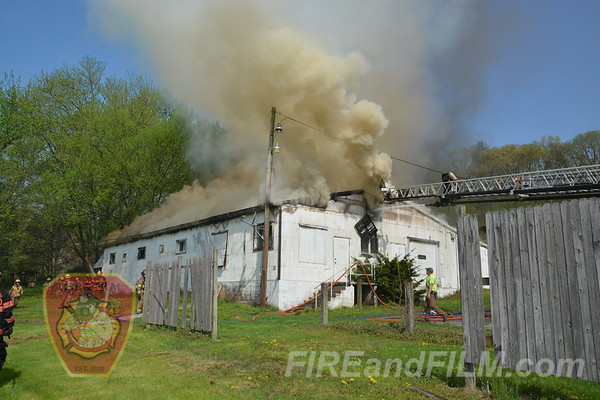 Schuylkill County - Hegins Twp. - Building Fire - 05/07/2018