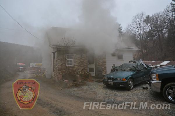 Schuylkill County - North Manheim Twp. - Dwelling Fire - 03/20/2018
