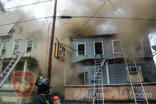 Schuylkill County - Port Carbon - Building Fire - 07/12/2018